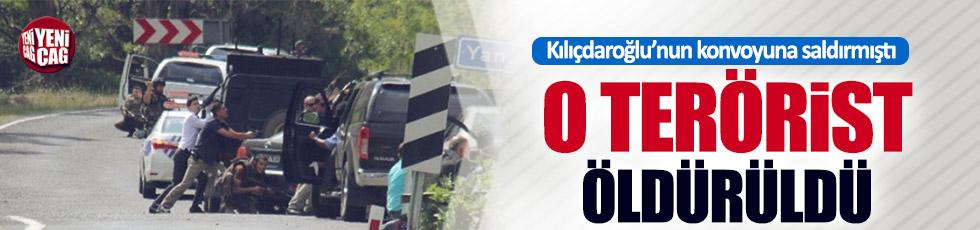 Kılıçdaroğlu'nun konvoyuna saldıran terörist öldürüldü