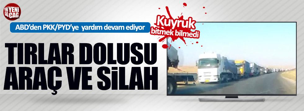 ABD'den PKK/PYD'ye 70 Tır daha