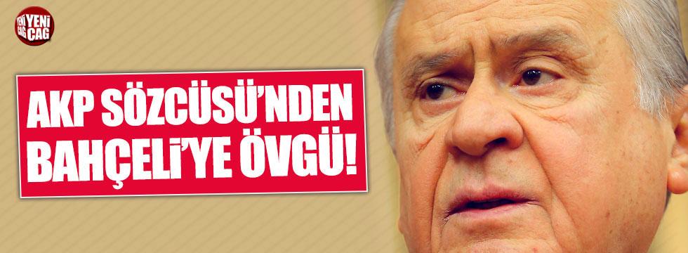 AKP'li Mahir Ünal'dan Bahçeli'ye övgü!
