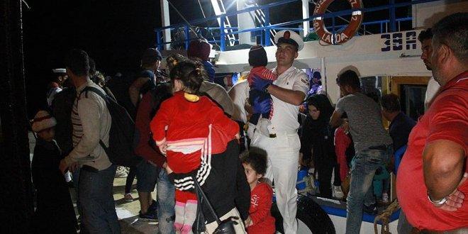 Karadeniz'de 300'den fazla mülteci yakalandı