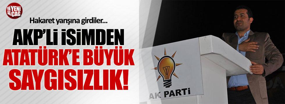 AKP'li belediye çalışanından Atatürk'e büyük saygısızlık