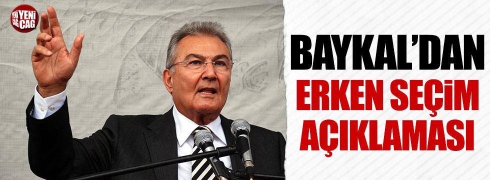 Baykal'dan erken seçim açıklaması