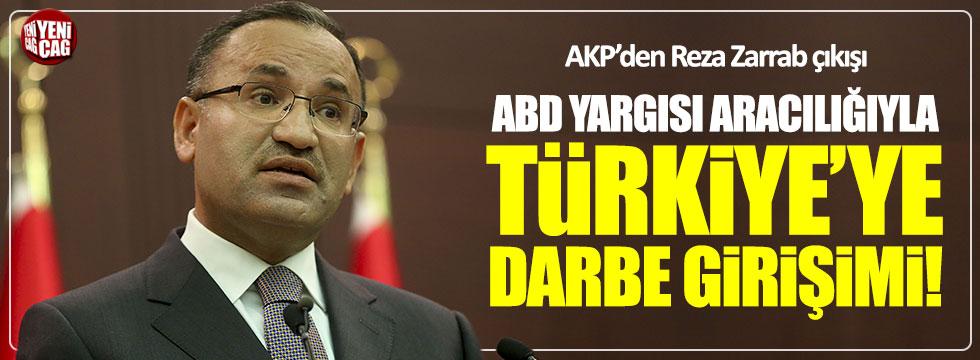 Bozdağ: ABD yargısı aracılığıyla Türkiye'ye darbe yapılmak isteniyor