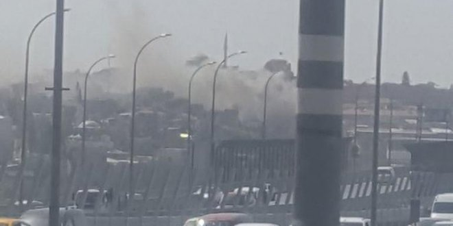 Edirnekapı'da yangın