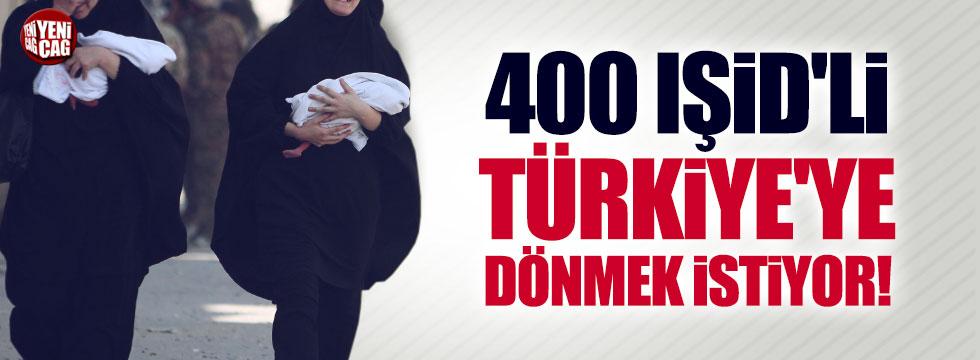 400 IŞİD'li Türkiye'ye dönmek istiyor!