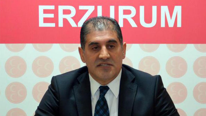 MHP Erzurum eski İl Başkanı Kaya istifa etti