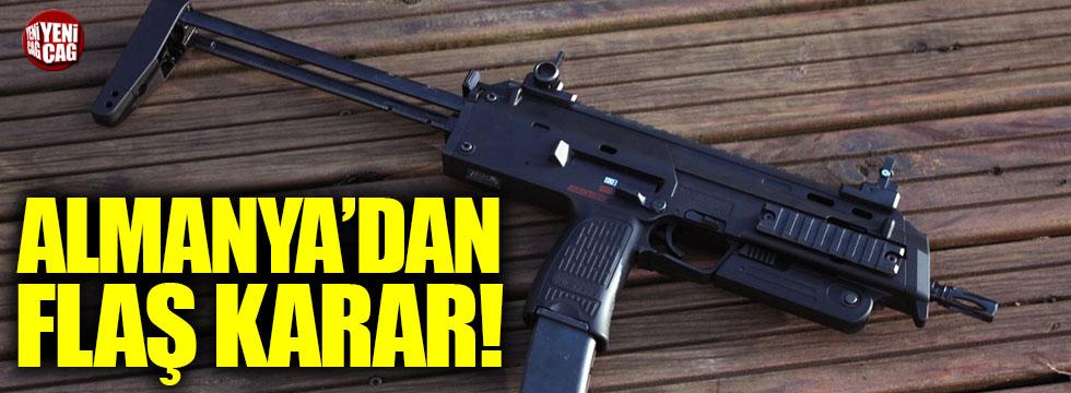 Almanya silah satışını askıya aldı!