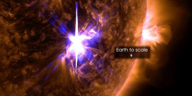 Güneş'te son 12 yılın en büyük patlaması gerçekleşti