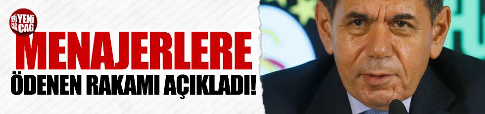 Özbek Galatasaray'ın mali tablosunu açıkladı