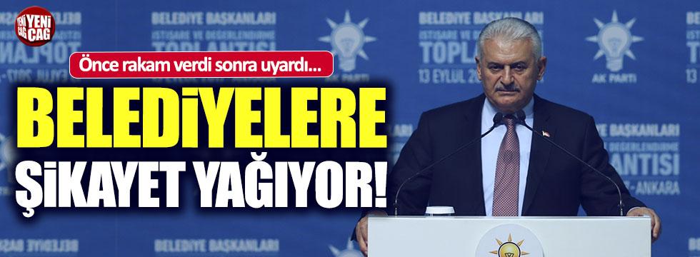 Yıldırım'dan belediye başkanlarına uyarı