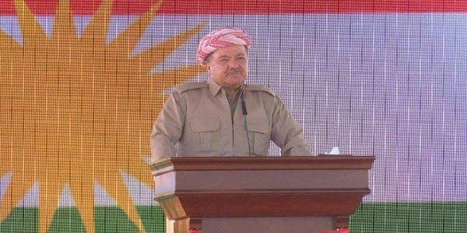 Barzani'den sözde bağımsızlık açıklaması