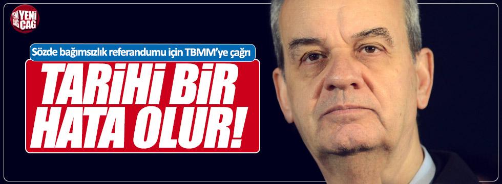 Başbuğ'dan TBMM'ye referandum çağrısı