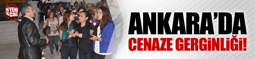 Ankara'da cenaze gerginliği