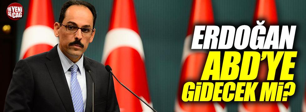 Erdoğan ABD'ye gidecek mi?