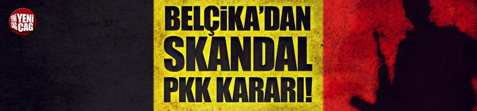 Belçika'dan skandal PKK kararı