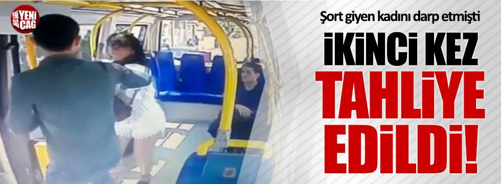 Şortlu kıza saldıran Ercan Kızılateş'e ikinci tahliye!