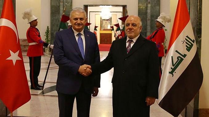 Başbakan Yıldırım Ibadi ile görüştü