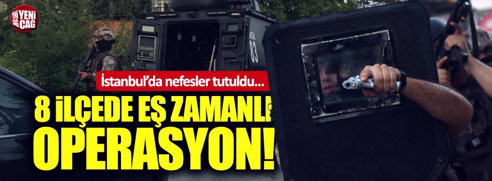 İstanbul'da IŞİD operasyonu: 74 gözaltı!