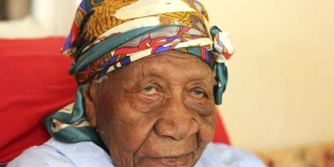Dünyanın en yaşlı kadını öldü