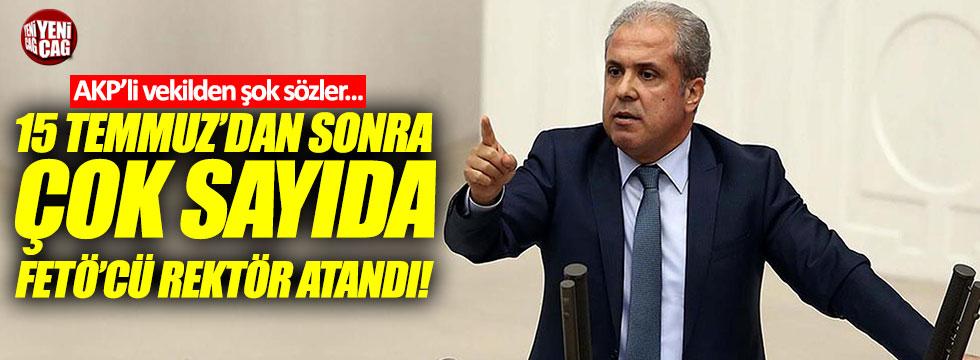 "Tayyar: ""15 Temmuz'dan sonra çok sayıda FETÖ'cü rektör atandı!"""