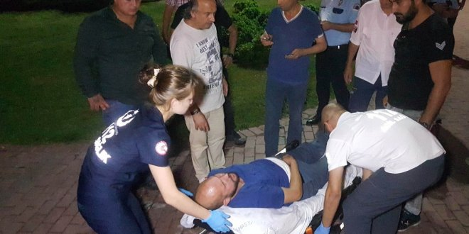 Parkta Suriyelilerin bıçaklı saldırısına uğradı