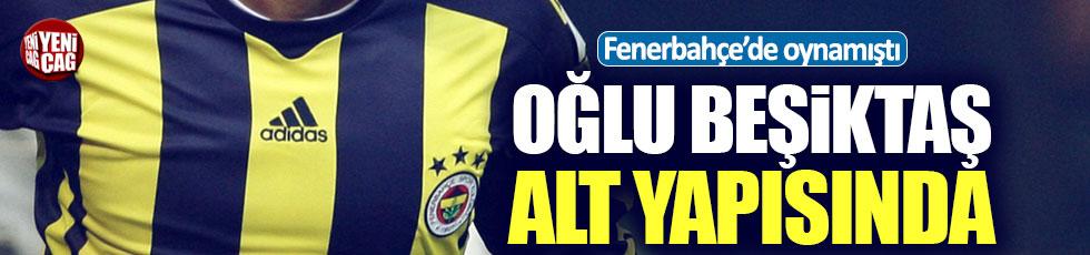 Eski Fenerbahçeli Andre Santos'un oğlu Beşiktaş'a transfer oldu