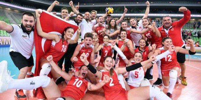 Milli takımımız dünya şampiyonu oldu