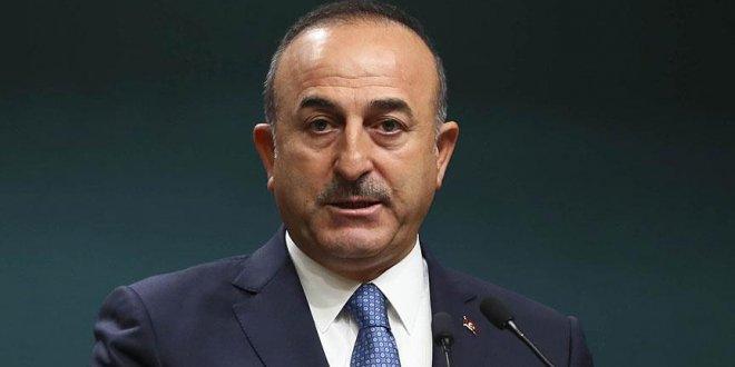 Çavuşoğlu'dan BM açıklaması