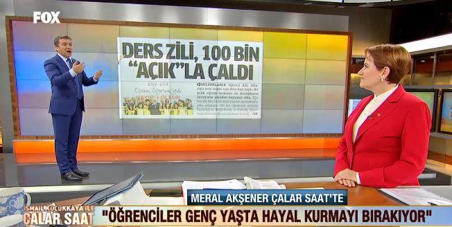 """Akşener: """"Biz MHP'nin devamı olmayacağız"""""""
