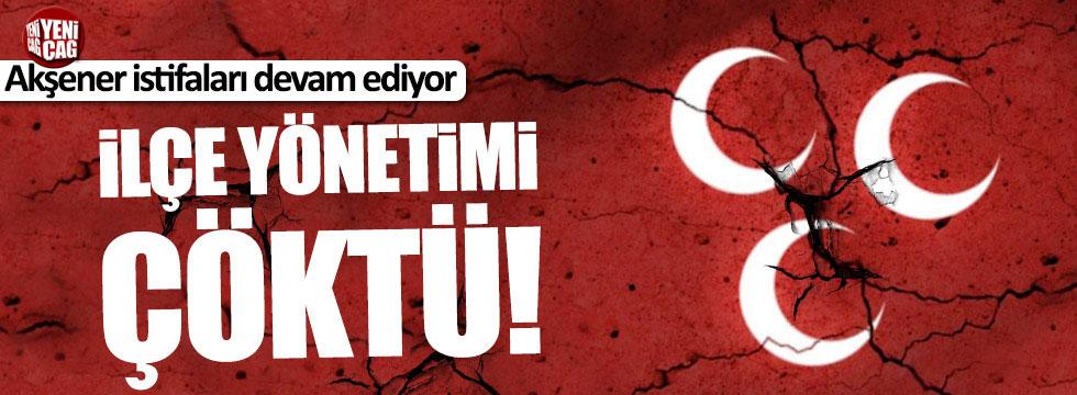 MHP Aydın Bozdoğan İlçe Teşkilatı çöktü