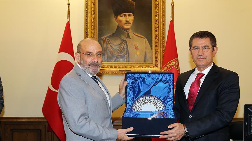 Canikli, Lübnan Savunma Bakanı ile görüştü