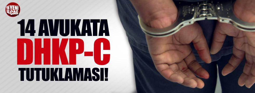 14 avukata DHKP-C tutuklaması