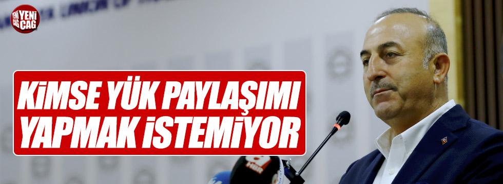 """Çavuşoğlu'ndan AB'ye """"mülteci"""" eleştirisi"""