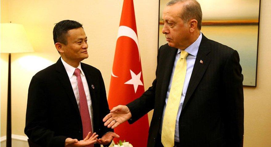 Erdoğan Ma ile görüştü