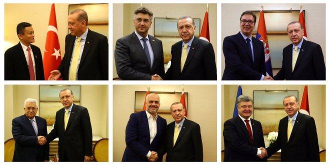 AKP'lilerden ilginç Erdoğan paylaşımları