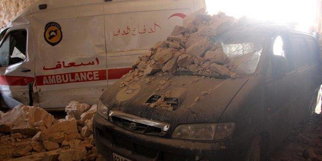 İdlib'de yoğun hava saldırıları sürüyor