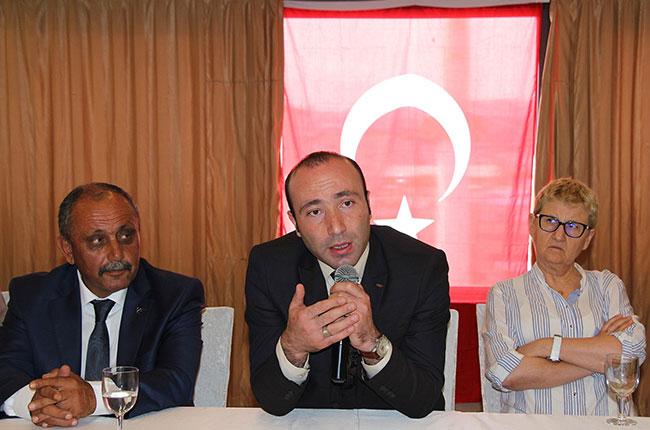 MHP Samsun İl Başkanı Tekin'den Ülkücülere tehdit