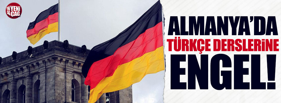Almanya'daki okullarda Türkçe dersine engel