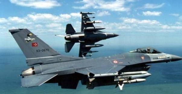 TSK, Irak'In kuzeyini vurdu