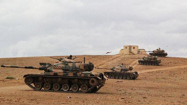 Tanklar sınıra konuşlandırıldı!