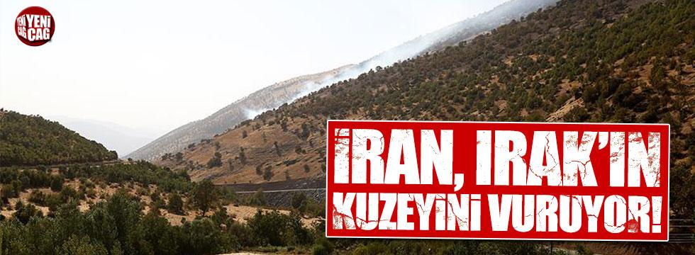 İran, Irak'ın kuzeyini vuruyor