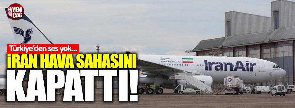 İran, Peşmerge yönetimine hava sahasını kapattı!