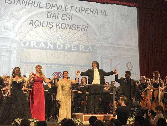 İDOB sezon açılış konseri Emek Sahnesi'nde yapıldı