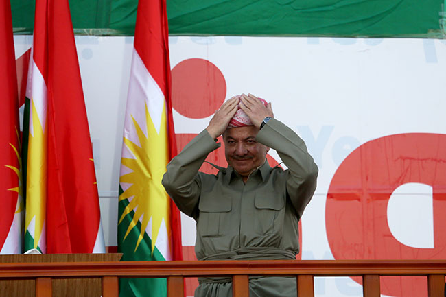 Barzani referandum kararını verdi!