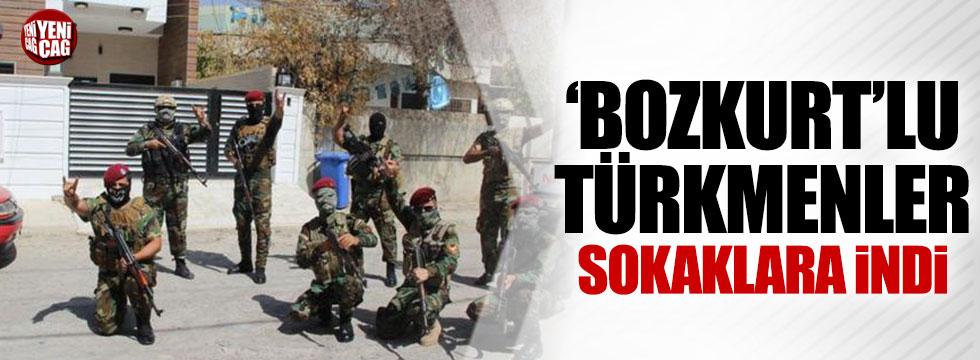 Türkmenler sokaklara indi