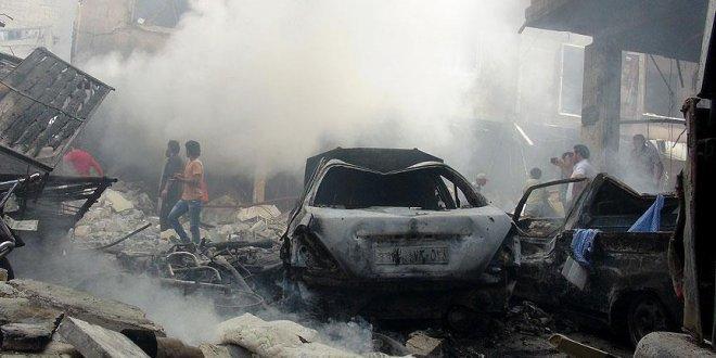 İdlib'e saldırılar sürüyor