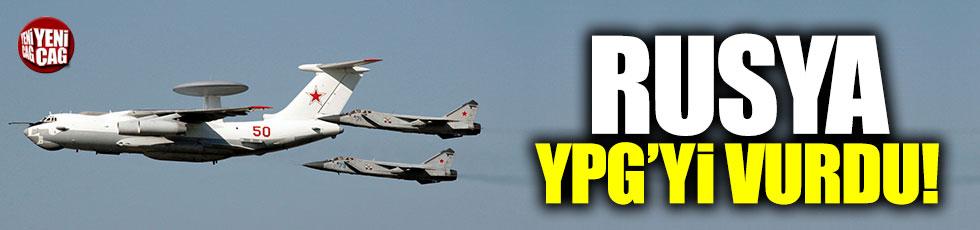 Rusya, YPG'yi vurdu!