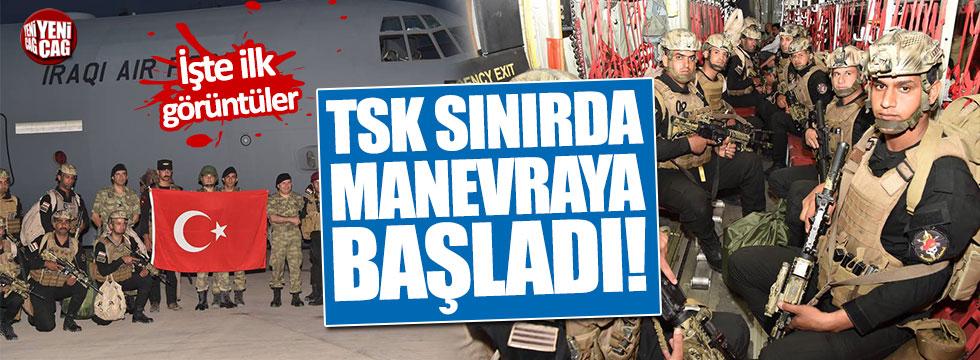 Bakanlık duyurdu: TSK ve Irak ordusu manevralara başladı!