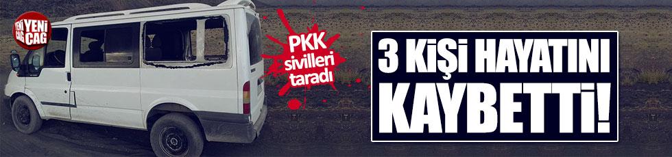 PKK sivilleri vurdu! 3 kişi hayatını kaybetti