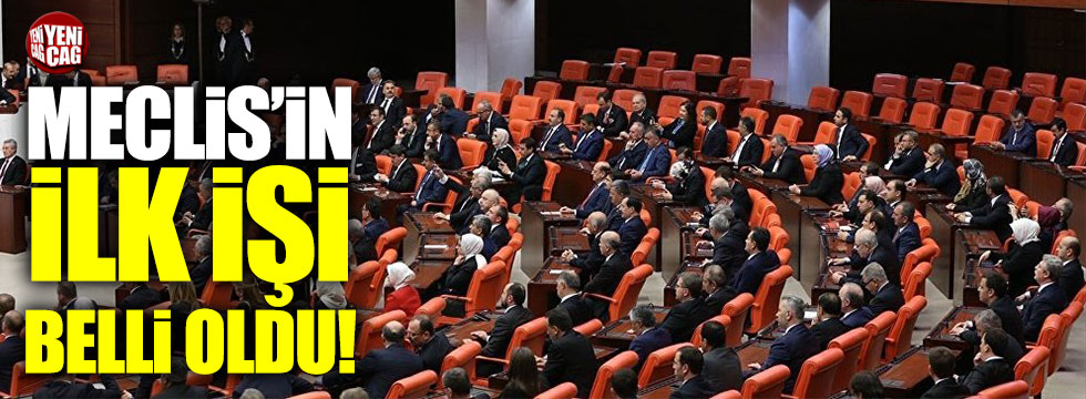 Meclis, işçi işveren uyuşmazlıklarıyla işe başlayacak